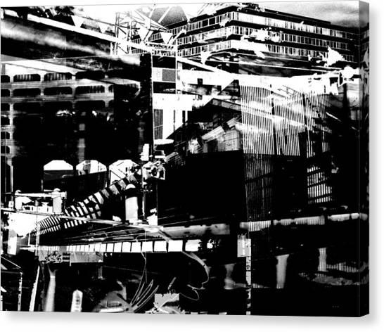 Metropolis Zurich 1 Canvas Print