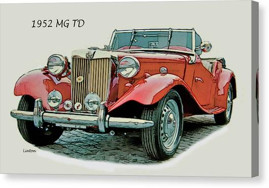 Mg Td Canvas Print by Larry Linton