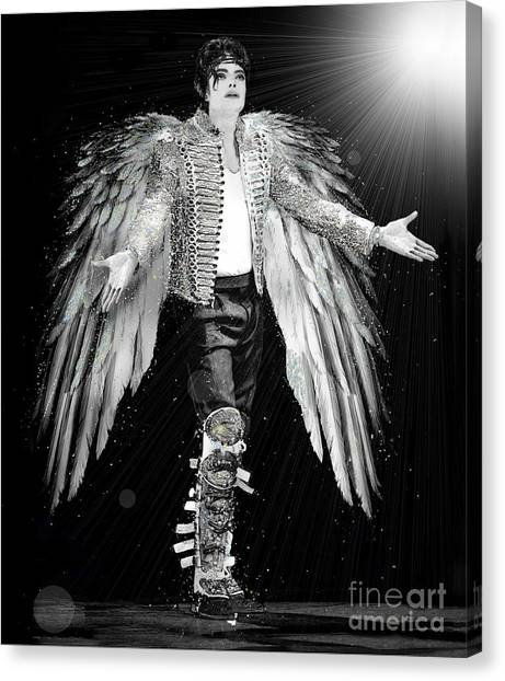 Michael King Of Angels Canvas Print