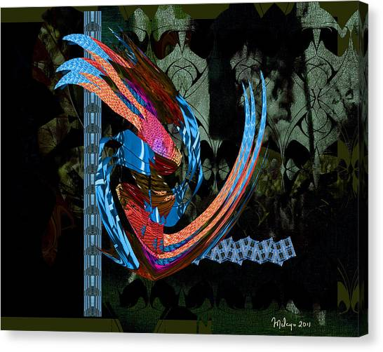Midnight In The Garden Of Good And Evil Canvas Print