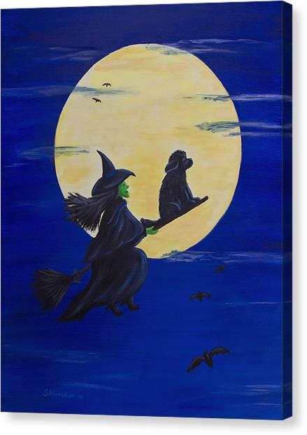Midnight Ride Canvas Print