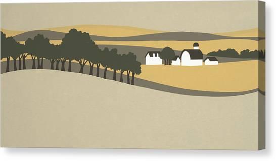 Midwest Landscape Canvas Print