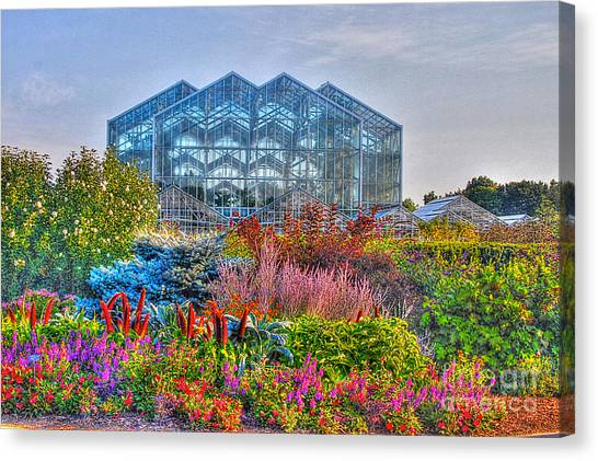 Miejer Gardens Revisited Canvas Print by Robert Pearson