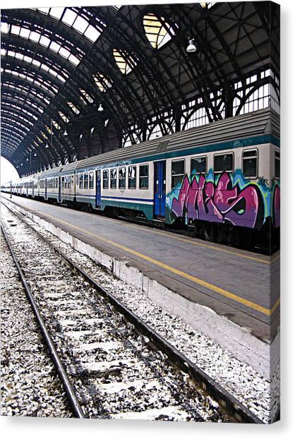 Milan Italy Fine Art Print Canvas Print by Ian Stevenson