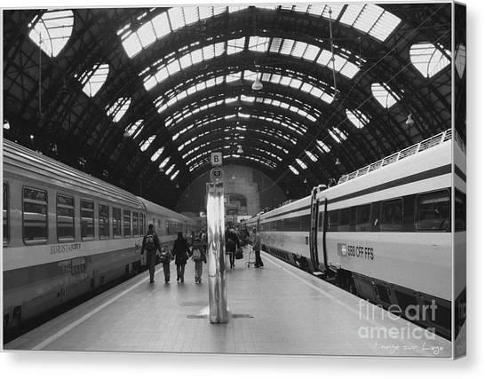 Milano Centrale Canvas Print
