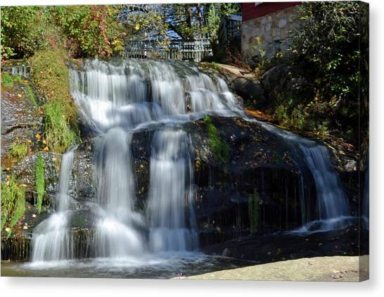 Mill Shoals Falls Canvas Print