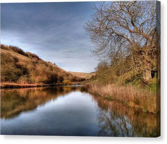 Millington Reflections Canvas Print