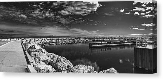 Milwaukee Breakwater Canvas Print