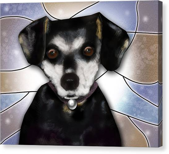 Min Pin Canvas Print by Melisa Meyers