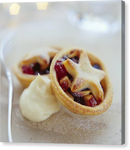 Mince Pies Canvas Print by David Munns