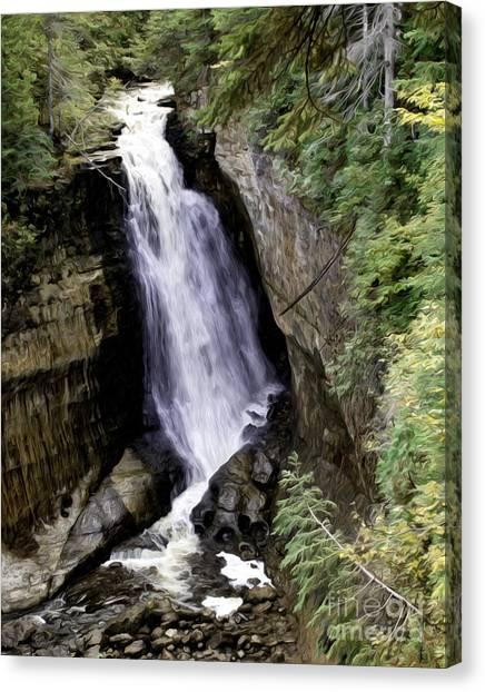 Miner Falls Canvas Print