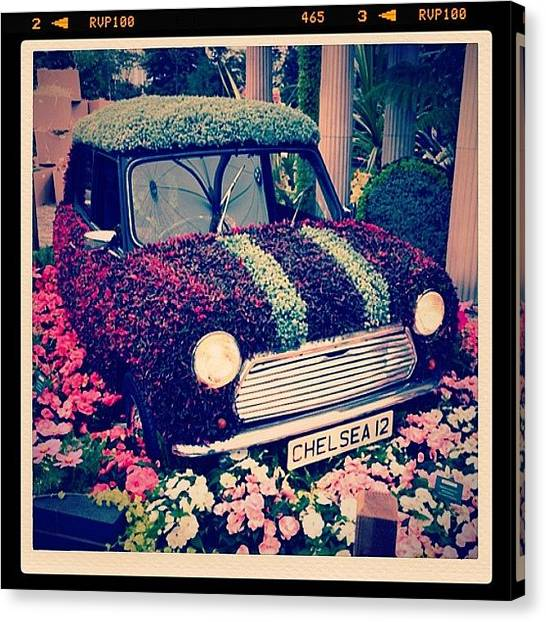 Automobiles Canvas Print - Mini Adventure #clubsocial #chelsea by A Rey