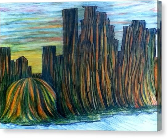 Minne Valley Canvas Print by Richard  Hubal