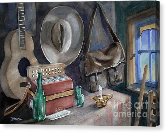 Minstrels Retreat Canvas Print