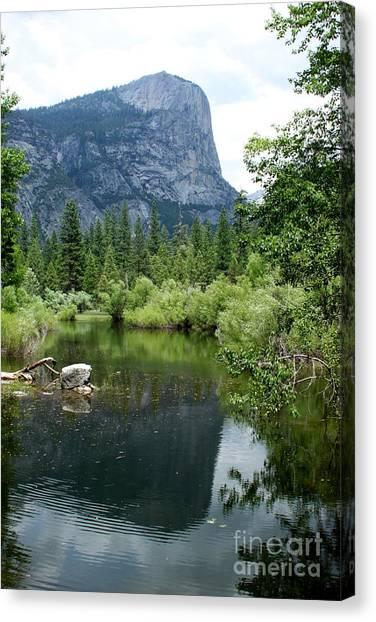Mirror Lake Canvas Print