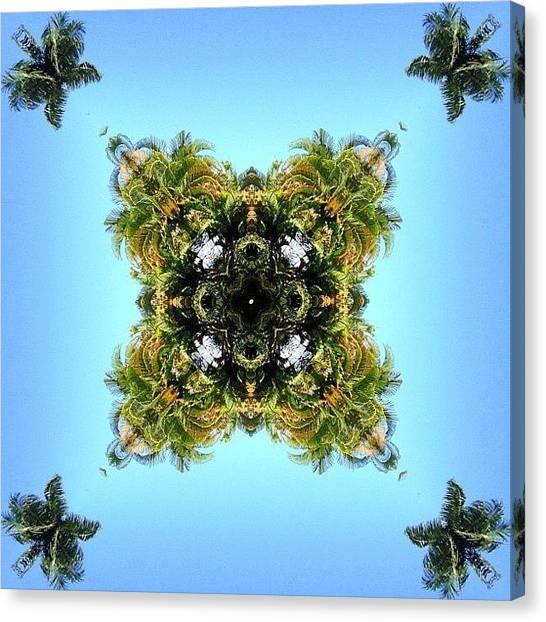 Mandala Canvas Print - #mirrorgram #photoaday #photochallenge by Dewi Maile Lim