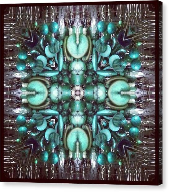 Mandala Canvas Print - #mirrorgram #photochallenge #day9 by Dewi Maile Lim
