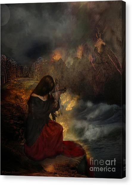 Mercy Canvas Print - Miserere by Lianne Schneider