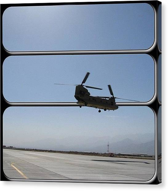Helicopters Canvas Print - Miss This Job! #tbt #helicopter by Joel R