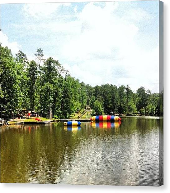 Scouting Canvas Print - Miss This Place Already! #boyscouts by Dallas Pollard