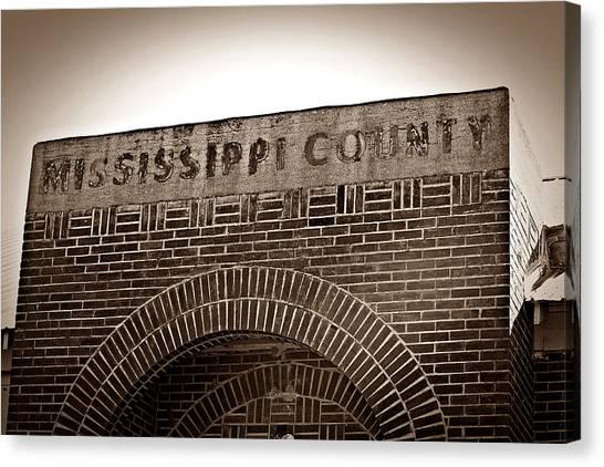 Missco High School In Arkansas Canvas Print