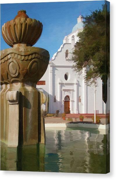 Mission Santa Cruz Canvas Print