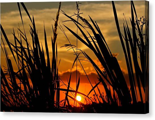 Mississippi Sunset At The Ross Barnett Reservoir 2 Canvas Print
