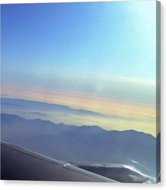 Jets Canvas Print - Misty Mountain Hoppin' | #instagram by Tony Macasaet