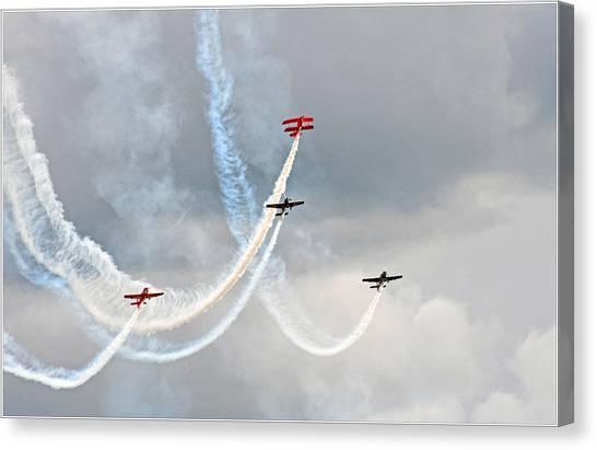 Mixed Aerobatics Canvas Print