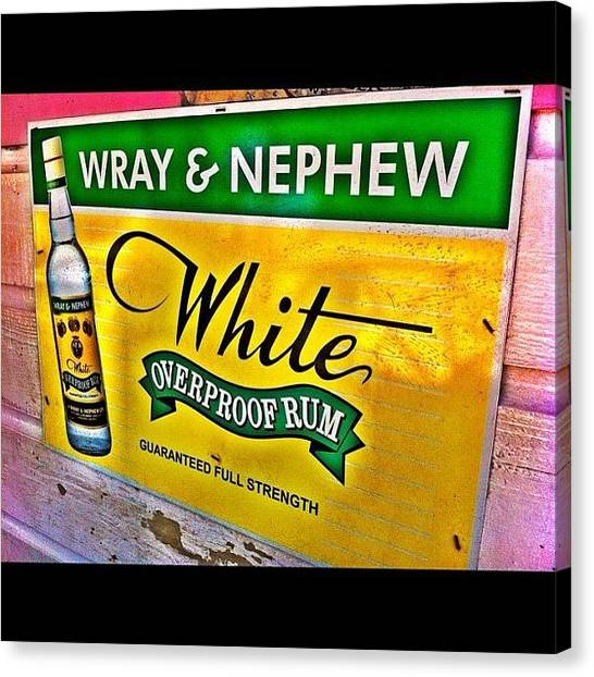 Liquor Canvas Print - Mmmm....i'm Thirsty by Dj Mello D