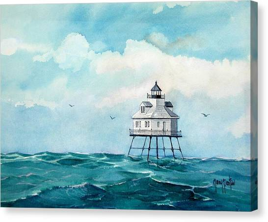 Mobile Middle Bay Light Canvas Print