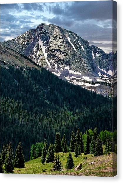 Molas Pass Canvas Print