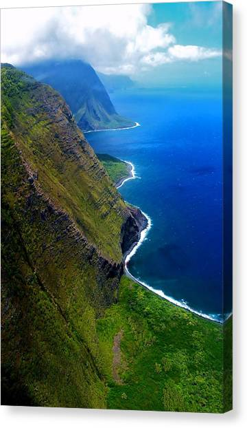 Molokai Coast Canvas Print