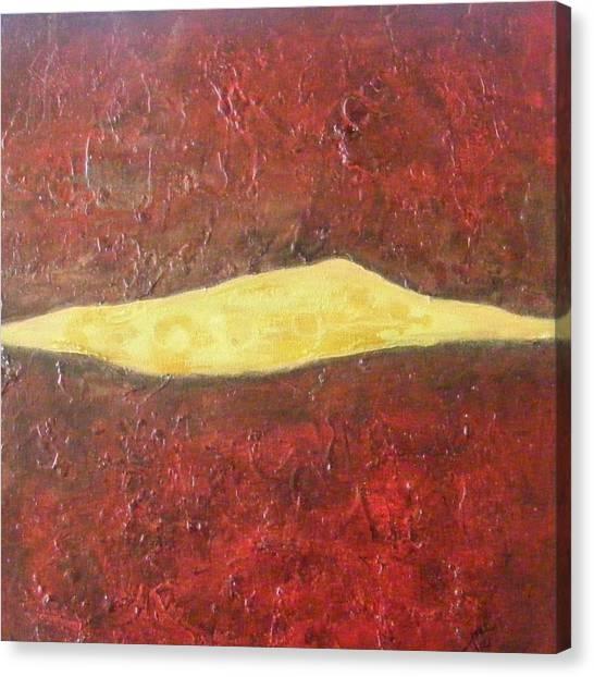 Molten Canvas Print by Jean LeBaron