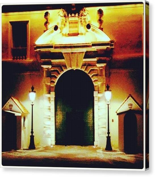 Prince Canvas Print - #monaco #palácio #palace by Marco Santos