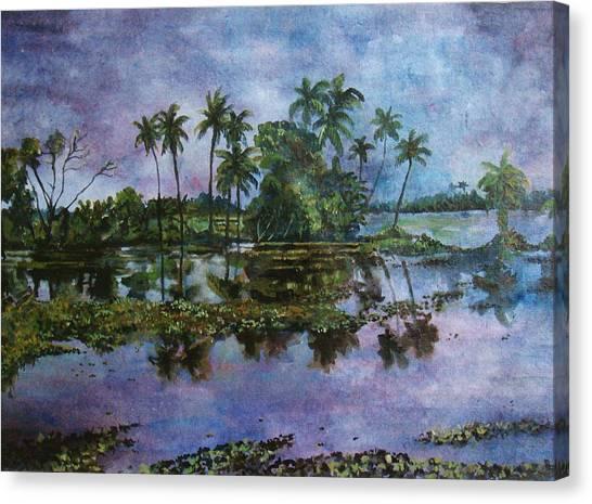 Monsoon Glory-ii Canvas Print by Manjula Prabhakaran Dubey