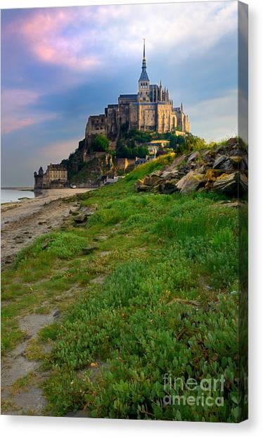 Mont-saint-michel France Canvas Print