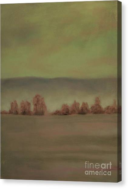 Montana Landscapes II Canvas Print by Sabina Haas