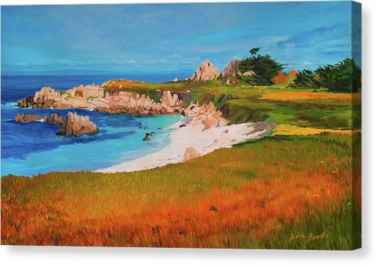 Monterey Peninsula Canvas Print