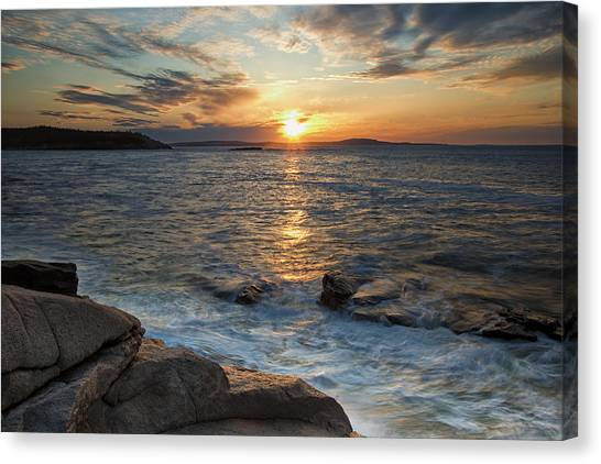 Monument Cove Sunrise Canvas Print