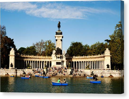 Monument To Alfonso Xii Canvas Print