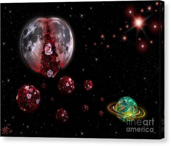 Moon In Labour Canvas Print