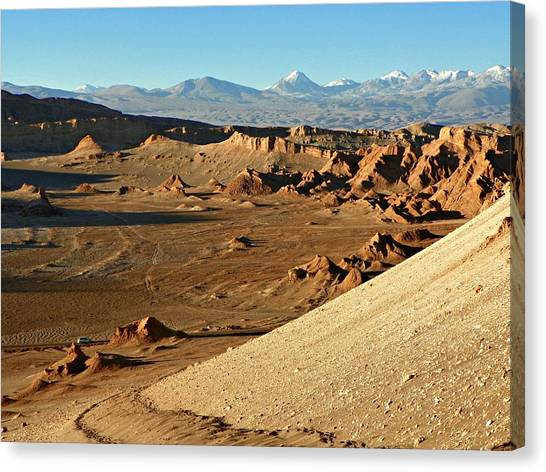 Moon Valley Atacama Desert Canvas Print