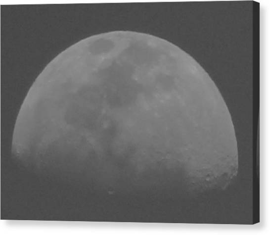 Moon's Shadow Canvas Print