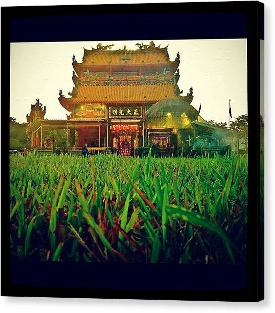 Karma Canvas Print - More Details Of The Temple by Szu Kiong Ting