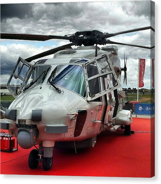 Helicopters Canvas Print - More From Farnborough #farn12 #fia12 by Henry Wisdom