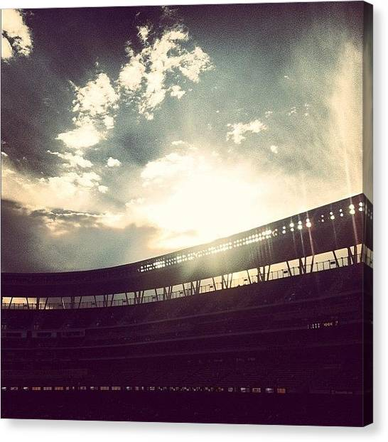Minnesota Twins Canvas Print - More Target Field Love. #minnesota by Jen Hernandez