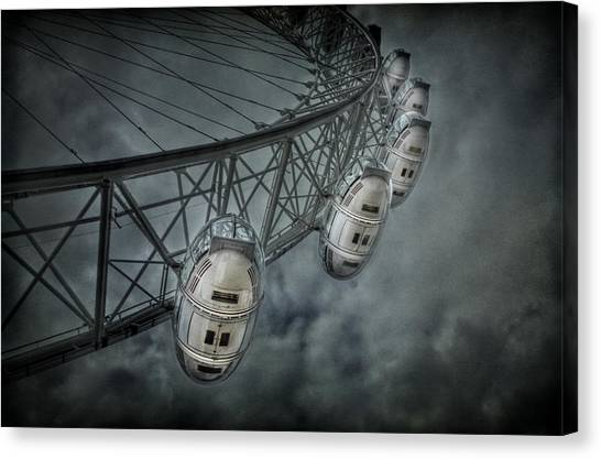 London Eye Canvas Print - More Then Meets The Eye by Evelina Kremsdorf
