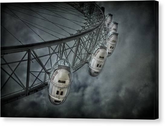 London Eye Canvas Print - More Then Meets The Eye by Evelina Kremsdorf