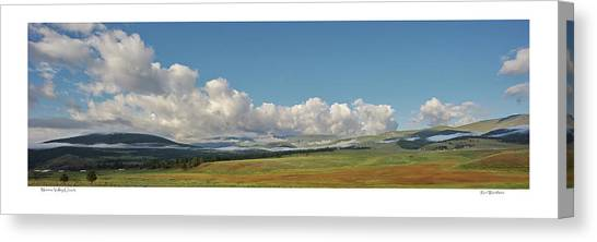 Moreno Valley Clouds Canvas Print